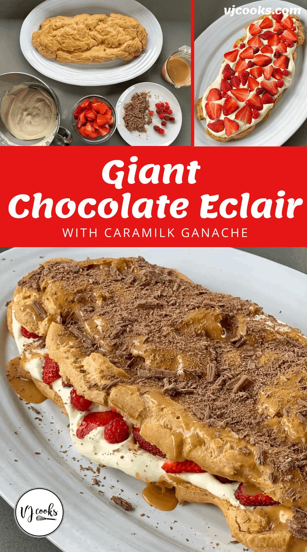 Giant Choc Eclair