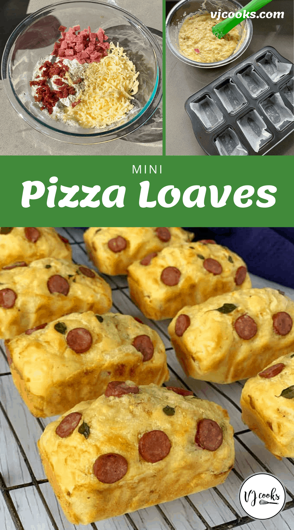 Mini Pizza Loaves