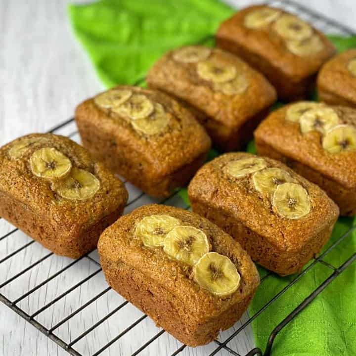 Banana Bran loaves
