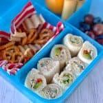 Bread sushi rolls