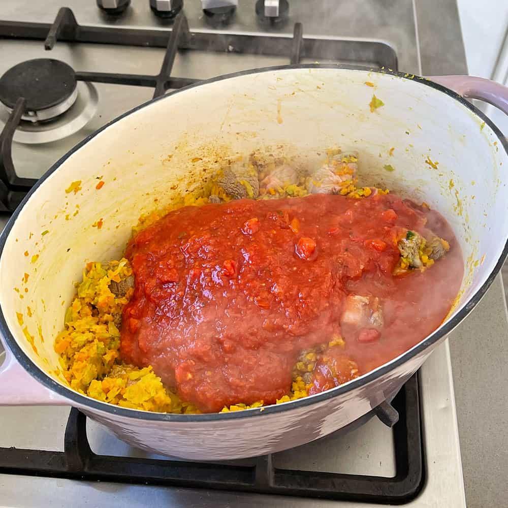Oven Baked Beef Ragu