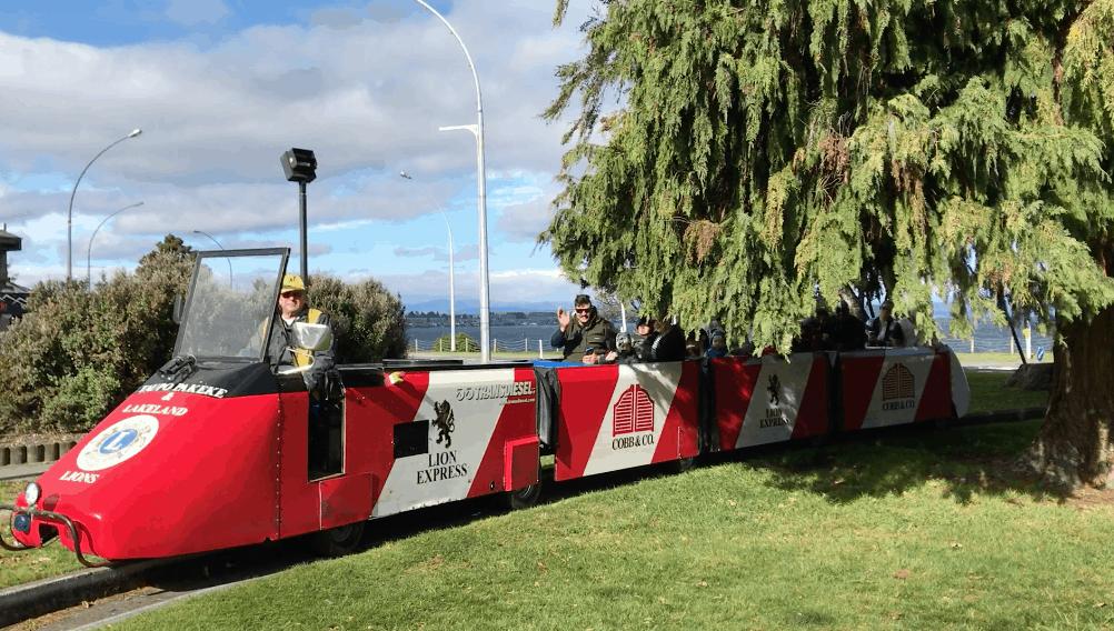 Lion's train taupo