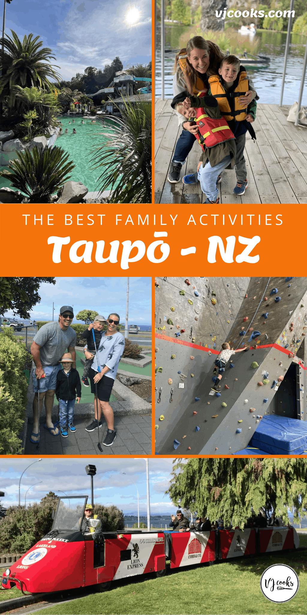 Taupo activities Pin