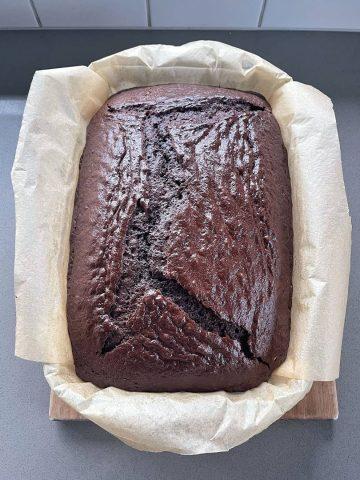 Huge chocolate cake