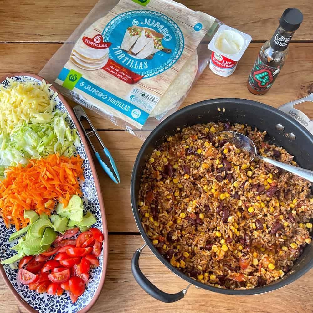 Build your own Burrito