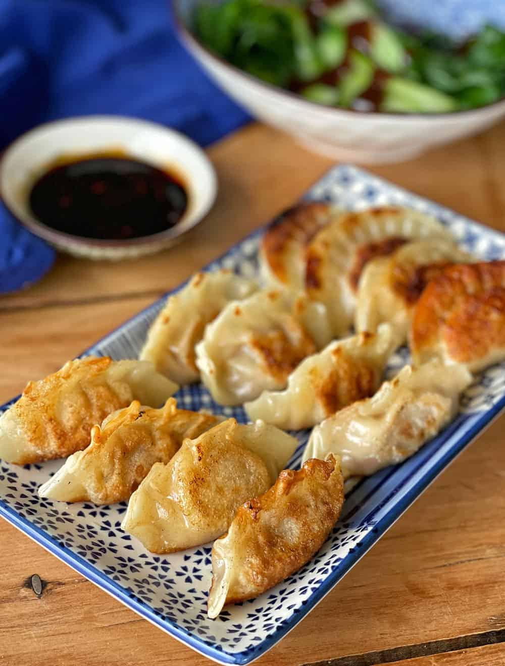 Pork and Ginger Dumplings