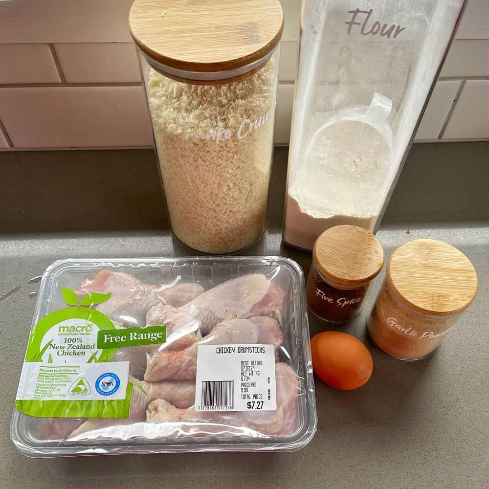 Crispy 5 Spice Chicken Drumsticks