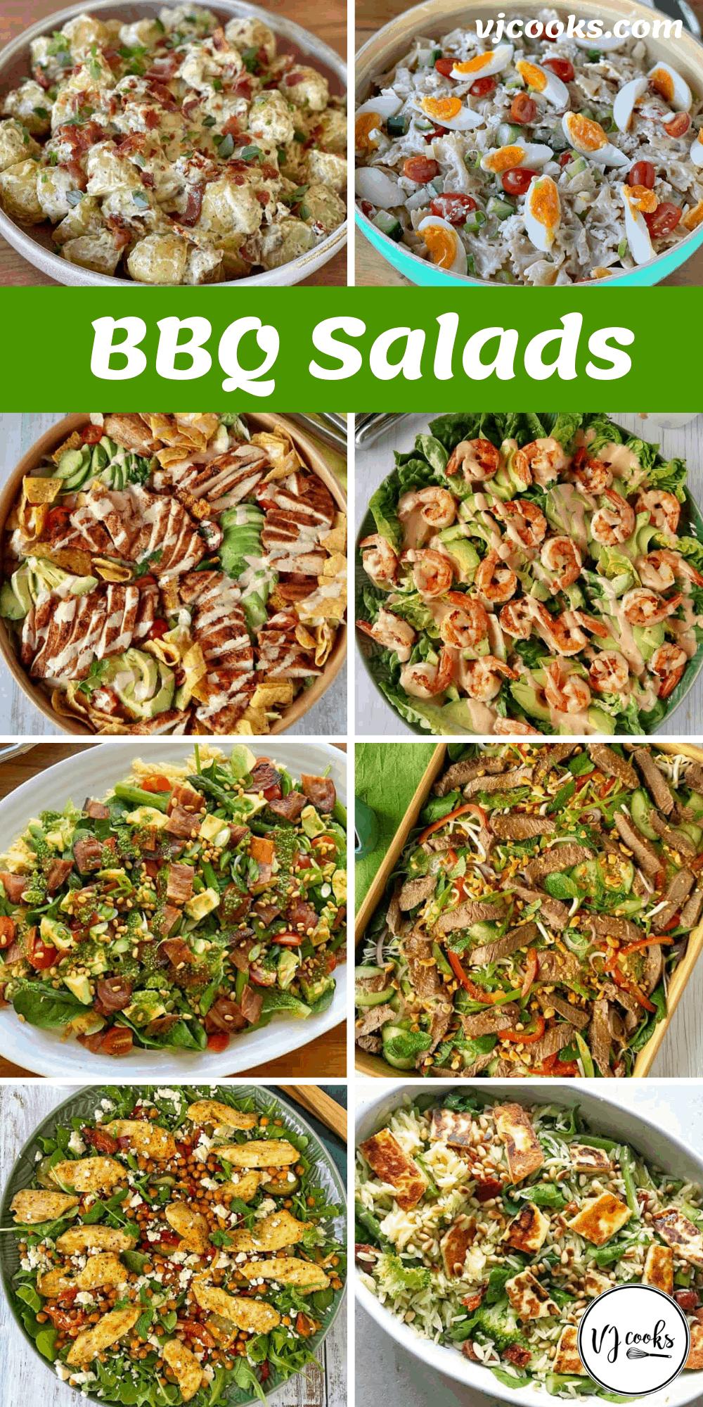 BBQ Salads pin
