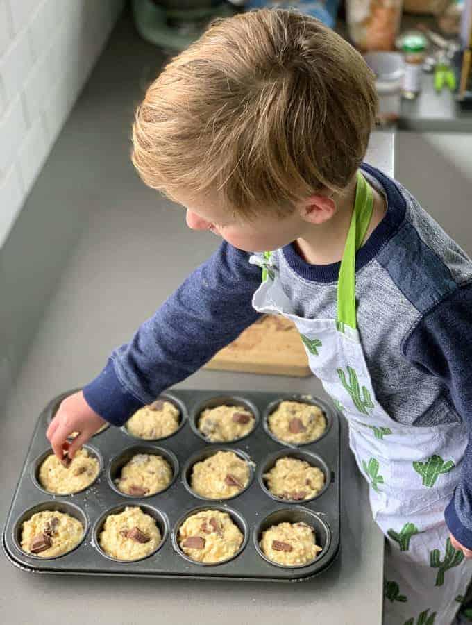 Chocolate Oaty Muffins