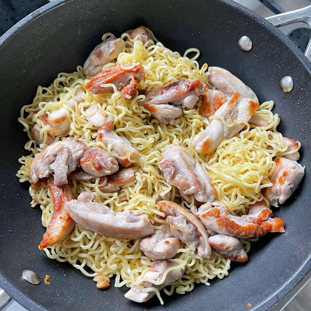Chicken Satay Noodle Stir Fry