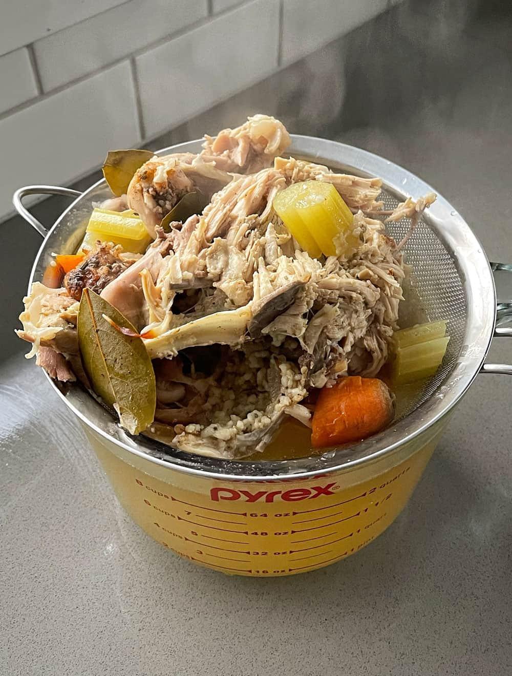 Multi Cooker Chicken Stock